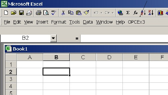 Keynes Controls - OPC Server Demonstration - Microsoft Excel